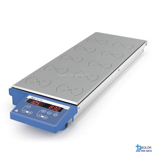 磁力搅拌器,艾卡,RT 10 ,10点加热型,最高加热温度:120℃,搅拌量:0.4L*10