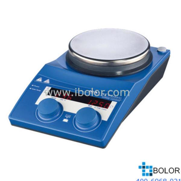 控制型加热磁力搅拌器;加热温度:室温~340℃,*大搅拌量:20L,面板材质:不锈钢 RET 基本型
