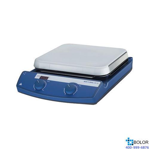 磁力攪拌器套裝,艾卡,C-MAG HS10數顯加熱型套裝,控溫范圍:50-500℃,攪拌量:15L