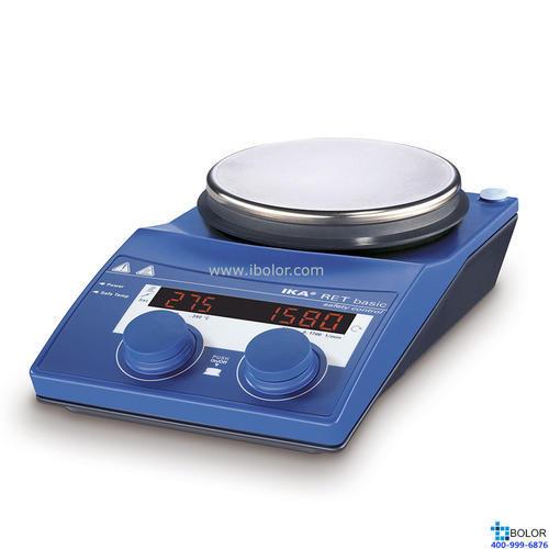 磁力攪拌器,艾卡,RET基本型主機,帶數顯加熱,最高加熱溫度:340℃,攪拌量:20L