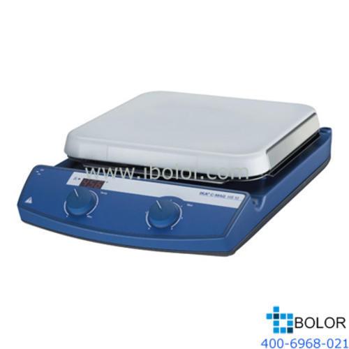 加熱磁力攪拌器;加熱溫度:室溫~500℃,最大攪拌量:15L,面板材質:玻璃陶瓷;C-MAG HS 10