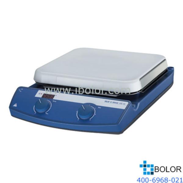 加热磁力搅拌器;加热温度:室温~500℃,*大搅拌量:15L,面板材质:玻璃陶瓷;C-MAG HS 10