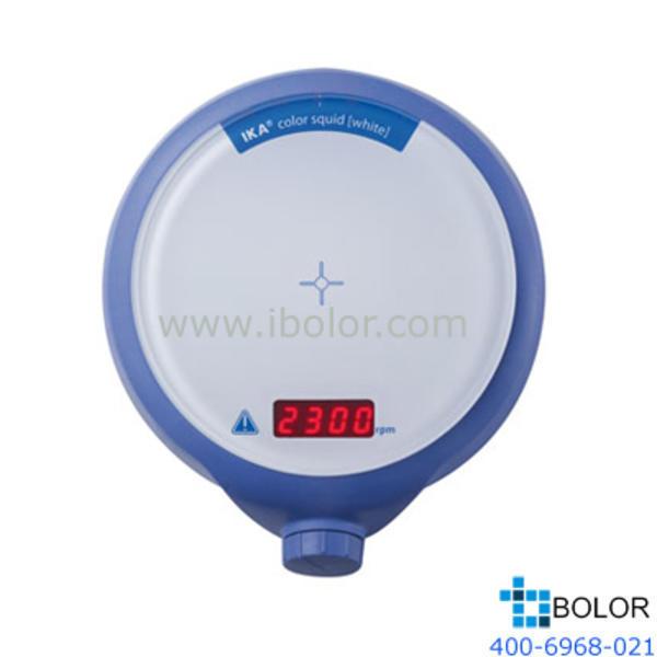 IKA/仪科彩色盘面 磁力搅拌器;*大搅拌量:1L,面板材质:玻璃陶瓷;color squid