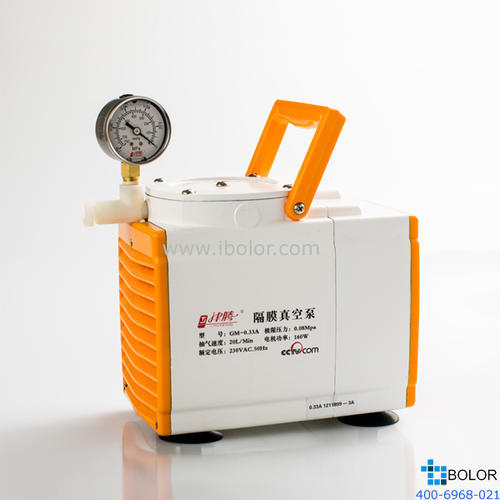 津騰 GM-0.5A防腐型 隔膜真空泵