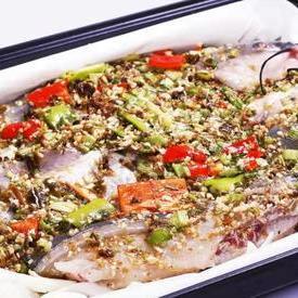 青花椒味纸包鱼