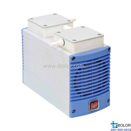 耐腐蝕隔膜真空泵;流量:13L/min;最大真空度:98.68kPa