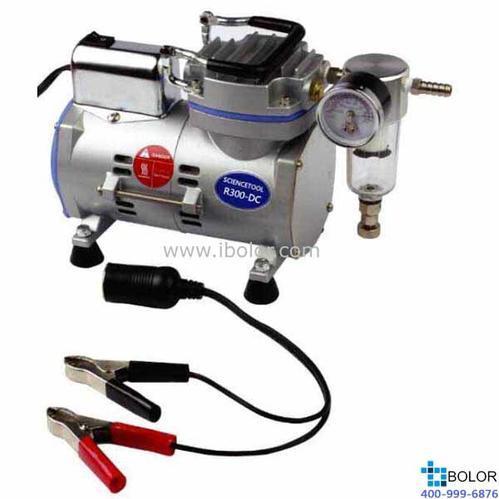 無油式真空泵;直流供電;最大流量:24L/min;最大真空度:650mmHg,=85.5kPa