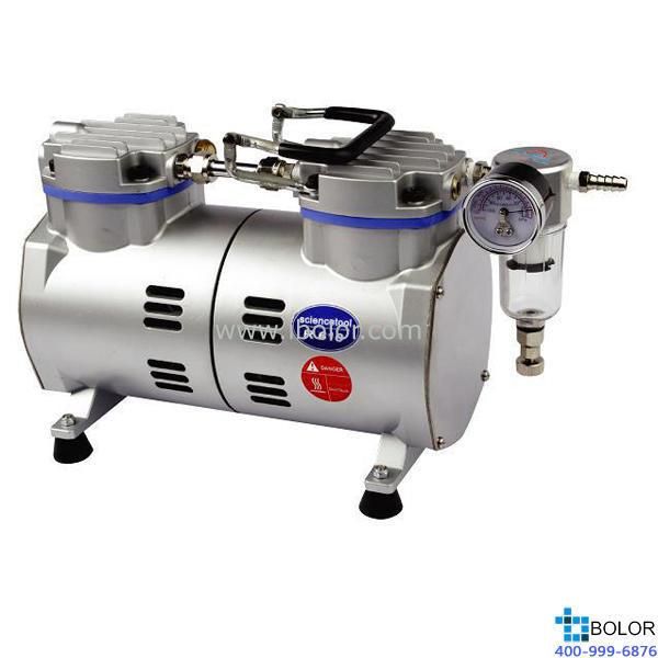 无油式真空泵;*大抽气量:40L/min;*大真空度:97.33Kpa(0.098Mpa) 保修两年;R610
