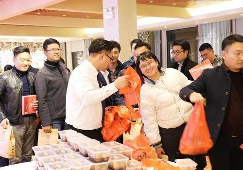 新北青商会举办第三届厨艺交流活动