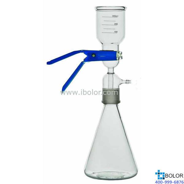 全玻璃溶剂过滤器;溶剂杯500mL;溶剂回收瓶2000mL; 硼硅玻璃材质;EC-2