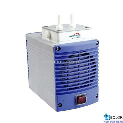 耐腐蝕隔膜真空泵;抽氣流量:14L/min;最大真空度:85.5Kpa