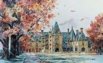水粉风景装饰画有什么好处?
