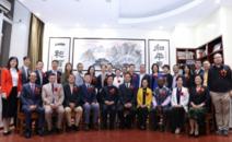 """一带一路文化教育项目,《中国咨询模型》成果国际授权,马来西亚""""和""""文化研究院,在沪隆重举行!"""