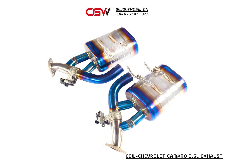 科迈罗3.6钛 CGW全段阀门排气