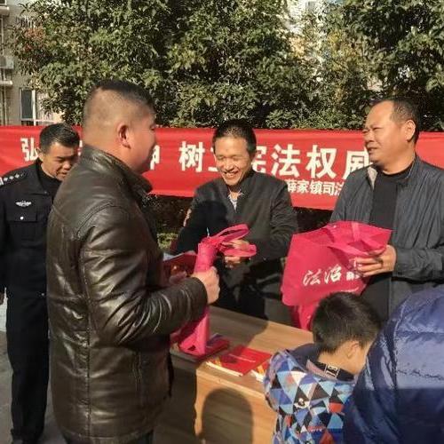 宪法宣传周丨薛家司法所积极开展宪法宣传活动