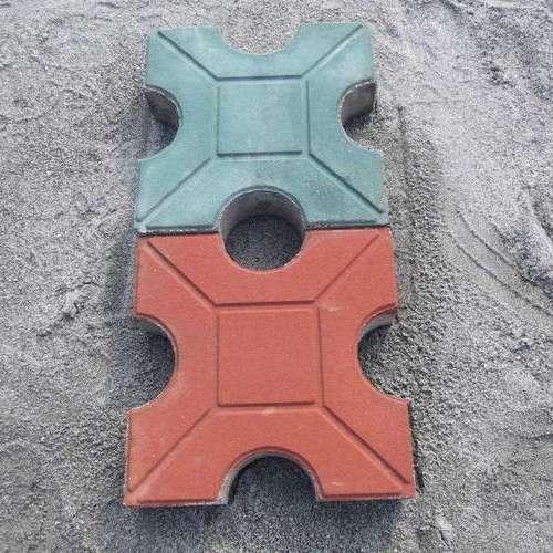 南通超级彩色植草砖八边型停车位砖厂家定制