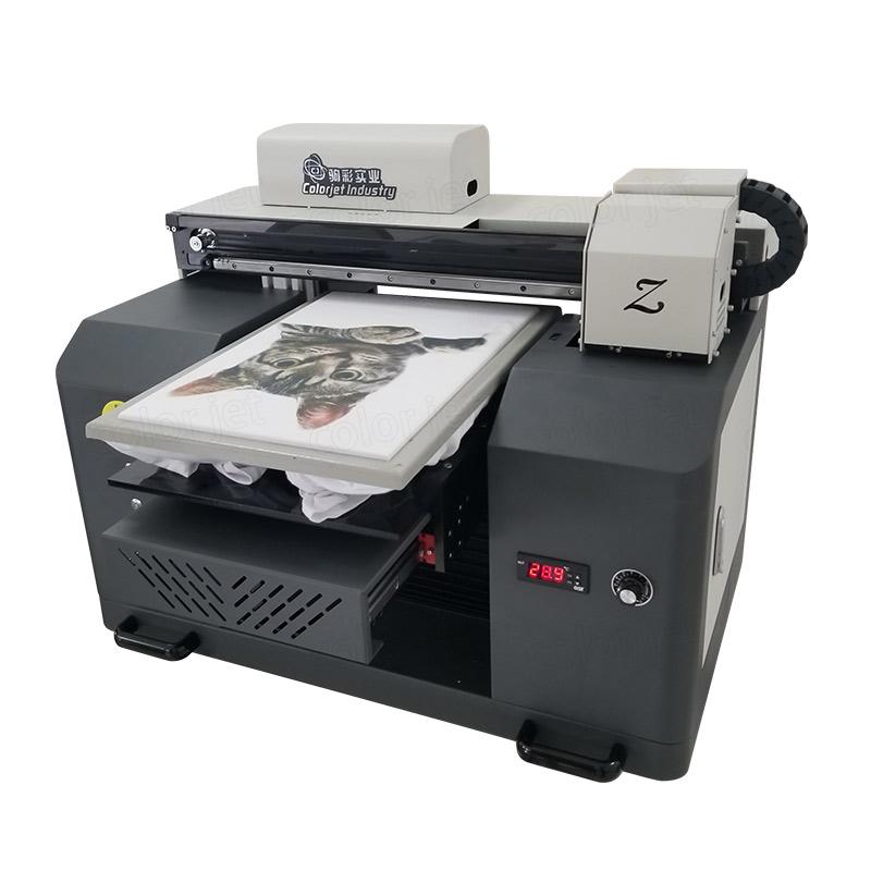 CJ Hot Sale A3 Desktop DTG Garment T Shirt Printer With DX7 Head