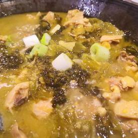铁锅酸菜鸡