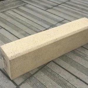 上海仿花岗岩异侧石 芝麻灰平板石
