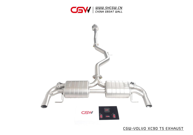 沃尔沃XC90 T5 CGW阀门排气