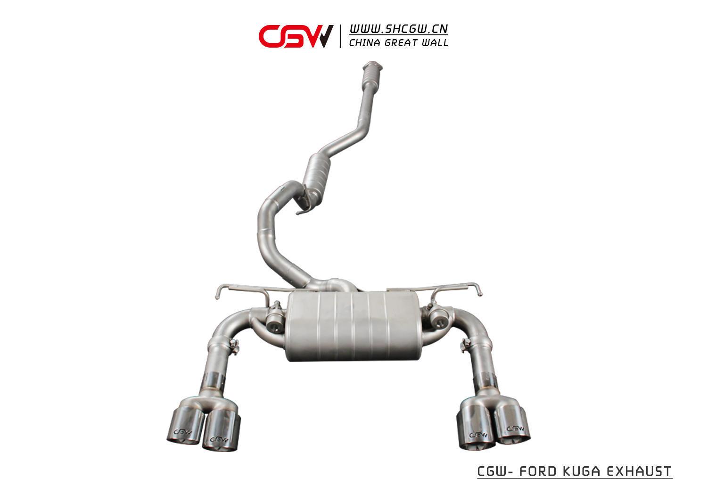 福特翼虎 CGW排气