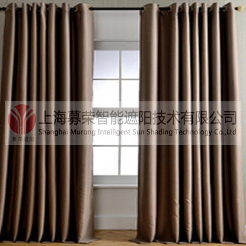 阻燃布艺窗帘,上海募荣智能遮阳技术有限公司