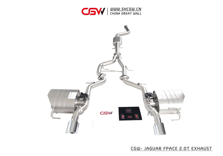 捷豹F-pace 2.0T CGW阀门排气