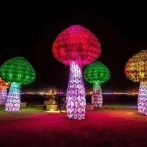 巨型发光蘑菇树
