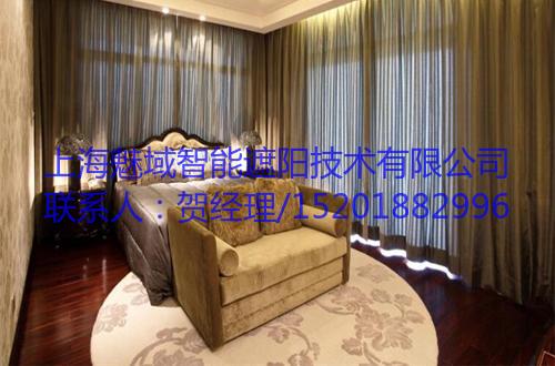 隔音电动窗帘,上海魅域智能遮阳技术有限公司