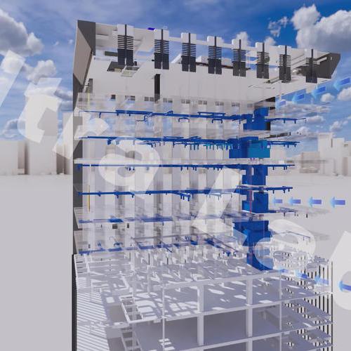 实验室送风管道系统工程