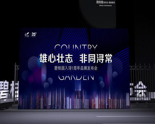 碧桂园入浔一周年品牌发布会