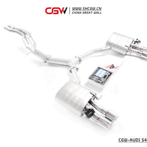 奥迪B9 S4/S5 CGW全段阀门排气