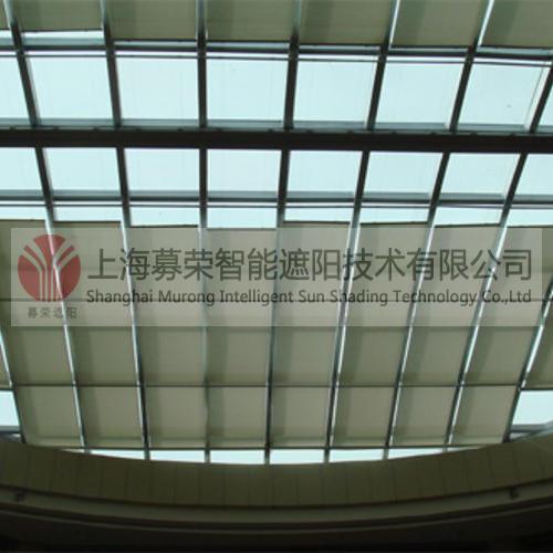 FSS电动天棚帘,上海募荣智能遮阳技术有限公司
