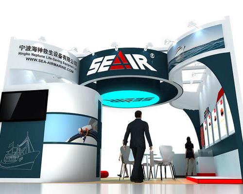 2019中国国际海事会展 -禾雅展台搭建案例展示