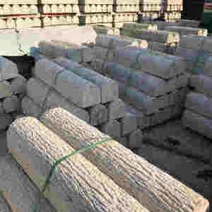 上海预制空心混凝土仿木桩河道护栏厂家供应
