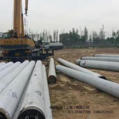 上海预制混凝土仿木桩河道护栏