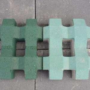 上植草pc砖井字形生态石砖路面砖停车位砖