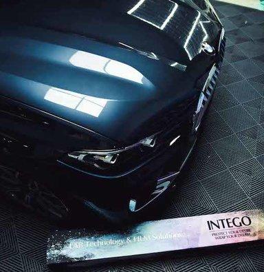 宝马X7装贴隐形车衣漆面保护膜INTEGO上海蓝精灵改车