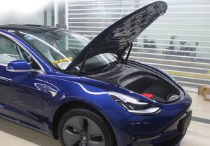 特斯拉Tesla MODEL3专用电动尾门电动机盖改装上海蓝精灵改车