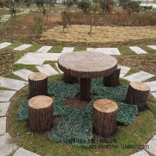仿木桩 园林庭院花园园林地仿木桩 中砼科技厂家批发直销