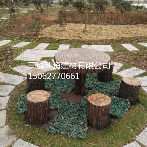 仿木桩 园林庭院花园园林地仿木桩 南通厂家批发直销