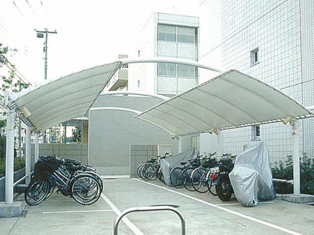 自行车膜结构