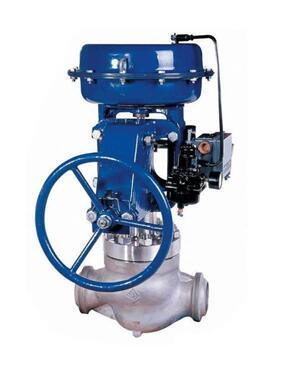 气动高压笼式调节阀图片