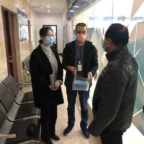 战疫情丨三井街道收到社矫对象送来的口罩