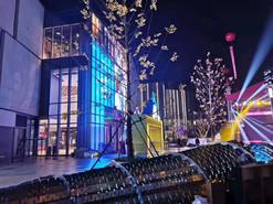 宁波宝龙商业广场金属雕塑