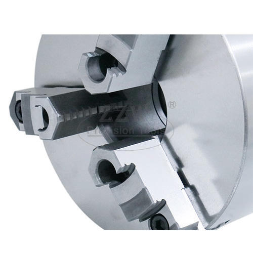 Two-Piece Reversible Jaws 3-Jaw Self-Centring Chuck Direct Mount