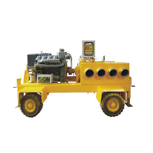 应急抢险移动泵车