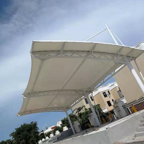 海南洋浦第一小学和实验小学看台膜结构工程