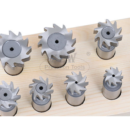 10pcs H.S.S. Woodruf Key Cutter Set