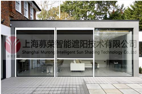 户外电动卷帘,上海募荣智能遮阳技术有限公司